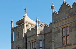 Detail of Northern facade of Vorontsov Palace Royalty Free Stock Photos