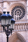 Detail of the Notre Dame Paris. Royalty Free Stock Photo