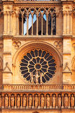 Detail of Notre Dame, Paris Stock Photos