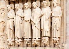 Detail of Notre Dame, Paris Stock Photos