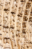 Detail of Notre Dame, Paris Royalty Free Stock Image