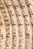 Detail of Notre Dame, Paris Royalty Free Stock Images