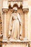 Detail of Notre Dame, Paris Stock Image