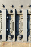 Detail of nuts and bolts of Sydney Harbour Bridge Royalty Free Stock Image