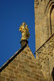 Detail of the Obere Pfarre church in Bamberg, Germany Stock Photo