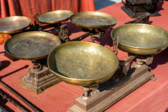 Detail objects antique market Royalty Free Stock Image