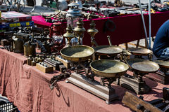 Detail objects antique market Royalty Free Stock Images