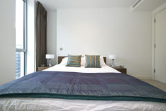 Detail Of A Luxurious Modern Bedroom Stock Photo