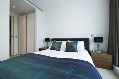 Detail Of A Luxurious Modern Bedroom Stock Images