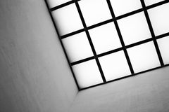 Free Detail Of A Modern Skylight Roof With Grids Royalty Free Stock Images - 71221009