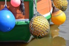 Detail Of A Shrimp Boat