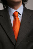 Detail Of A Suit And A Tie Royalty Free Stock Photos