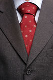 Detail Of A Suit And A Tie Stock Photography