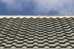 Free Detail Of A Tiled Roof Stock Photography - 10971522