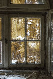 Detail Of A Very Old, Dirty Window Stock Photography