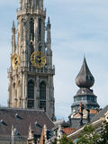 Detail Of Antwerp Cathedral Royalty Free Stock Photos