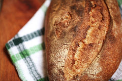 Detail Of Baked Sourdough Spelf Flour Bread With Nice Crust Royalty Free Stock Photo