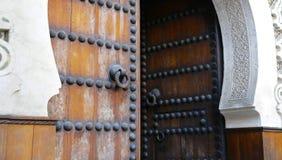 Free Detail Of Door In Moroccan Building Stock Image - 169834801