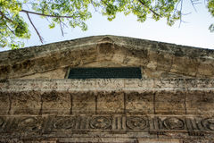 Detail Of El Templete In Old Havana,Cuiba Stock Photos