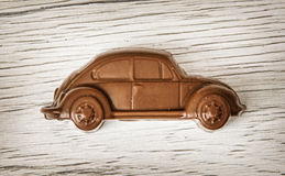 Free Detail Of Little Chocolate Car Figure Royalty Free Stock Photography - 68728477