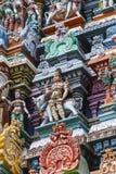 Detail Of Meenakshi Temple In Madurai, India Royalty Free Stock Photos