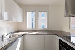 Detail Of New Modern Kitchen Corner Royalty Free Stock Images