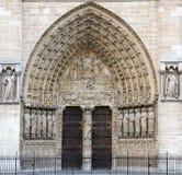 Detail Of Notre Dame De Paris Stock Image