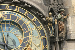 Detail Of Old Prague Clock Stock Photo