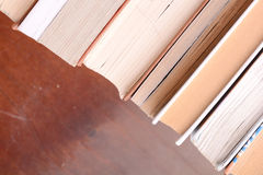 Detail Of Pages Of An Old Book Stock Image