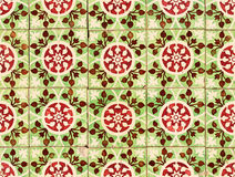 Free Detail Of Portuguese Red And Green Glazed Tiles Stock Photos - 23731323