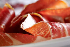 Detail Of Prosciutto Royalty Free Stock Photos