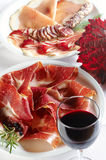 Detail Of Prosciutto Stock Photography
