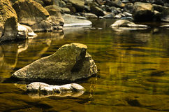Free Detail Of Rocks In Water At Black River Gorge Stock Photography - 71909182