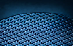 Free Detail Of Silicon Wafer Containing Microchips Stock Photo - 91825000