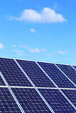 Detail Of Solar Power Station Royalty Free Stock Photo