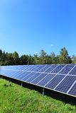 Detail Of Solar Power Station Royalty Free Stock Image