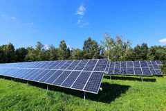Detail Of Solar Power Station Stock Images