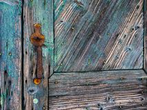 Free Detail Of Textured Old Blue Painted Wooden Door Royalty Free Stock Photo - 152193875
