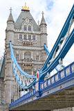 Detail Of Tower Bridge Royalty Free Stock Photography