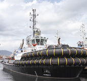 Detail Of Tug Boat Stock Images