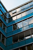 Detail of office building - glass facade Royalty Free Stock Images