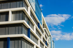 Detail of office building - glass facade Stock Photo