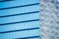Detail Office building window facade texture Royalty Free Stock Photos