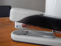 Detail of an office stapler Royalty Free Stock Image
