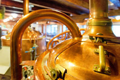 Detail of old  brewhouse Royalty Free Stock Image