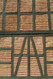 Detail of old brick wall. Detail of old, yellow and red brick wall Royalty Free Stock Photography