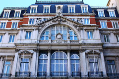 Detail of an old building, Lisbon, Portugal Royalty Free Stock Photos
