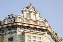 Detail of old building pattern. Detail of old Prague building pattern Royalty Free Stock Images