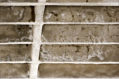 Detail of old built construction Stock Photo