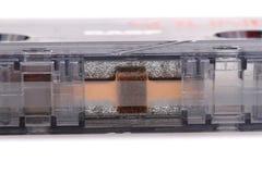 Detail of old casette tape Stock Photo